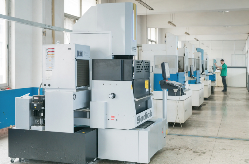 Mold processing line